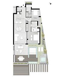 Villa Ventu luxury apartments costa del sol